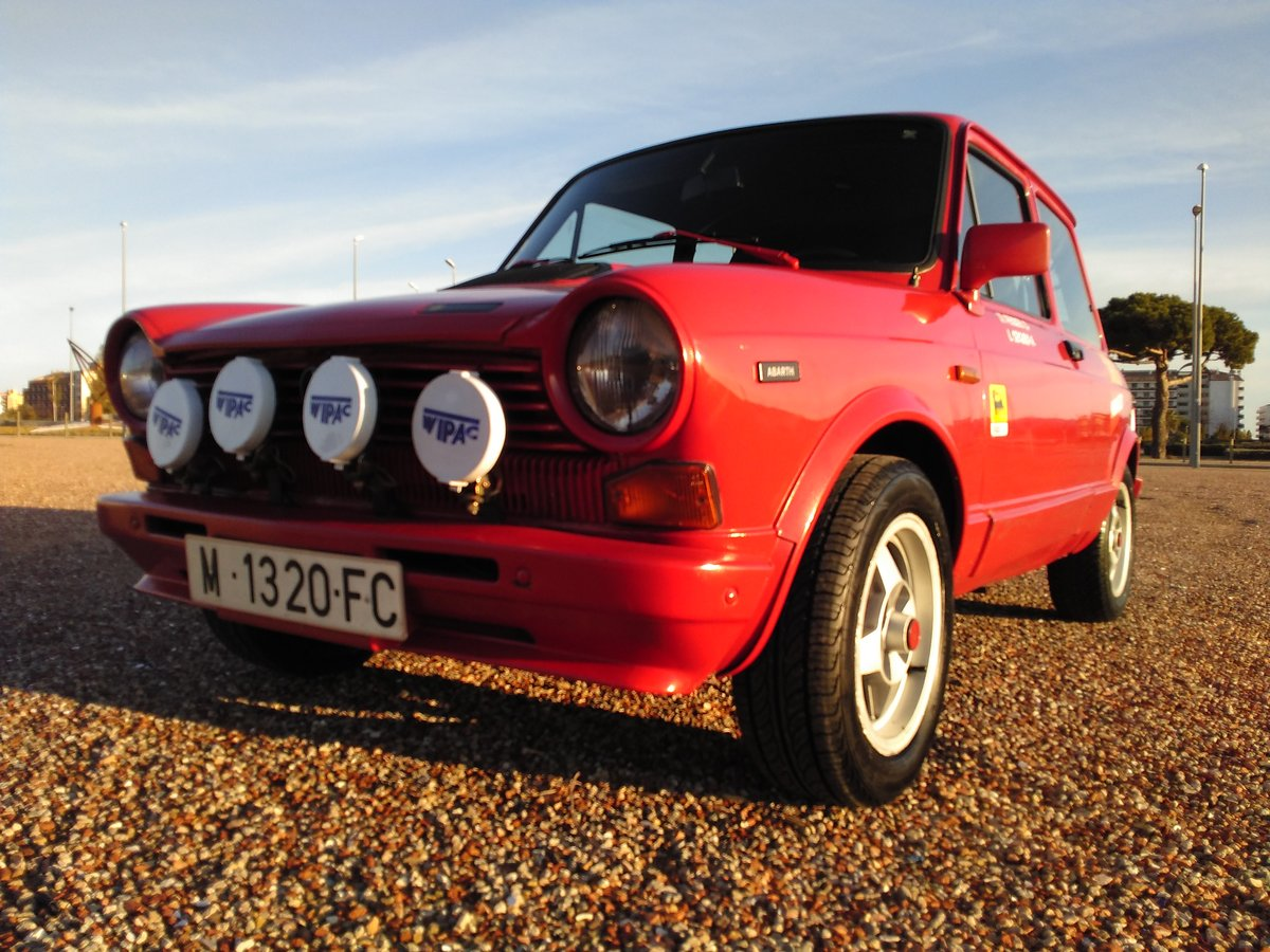 Autobianchi - A 112 Abarth (B2/5) - 1982 For Sale (picture 1 of 6)