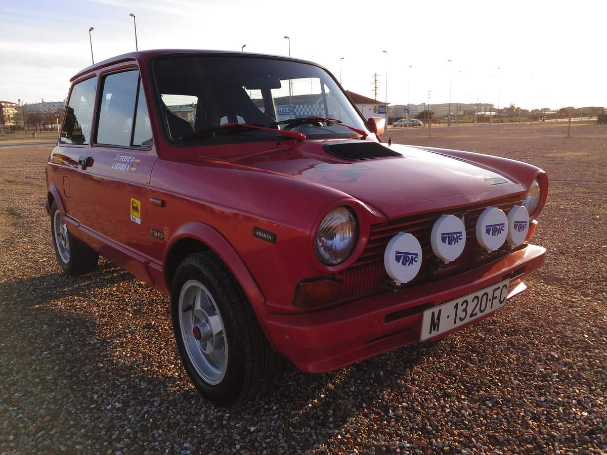 Autobianchi - A 112 Abarth (B2/5) - 1982 For Sale (picture 2 of 6)