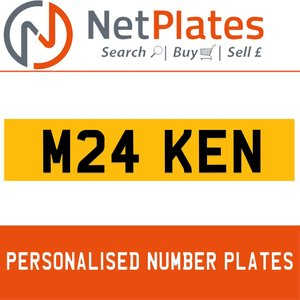 M26 KEN PERSONALISED PRIVATE CHERISHED DVLA NUMBER PLATE For Sale