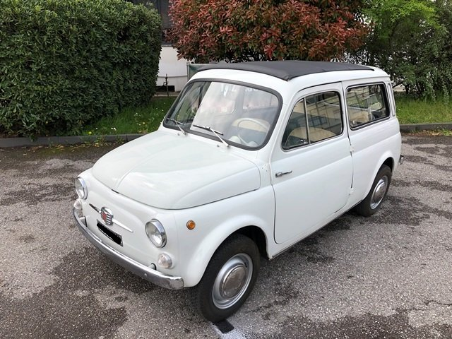 1966 FIAT NUOVA 500 GIARDINIERA SOLD (picture 1 of 6)
