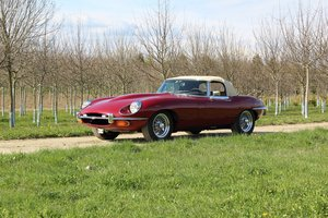 Jaguar Type-E convertible 4.2l Série 2 For Sale by Auction