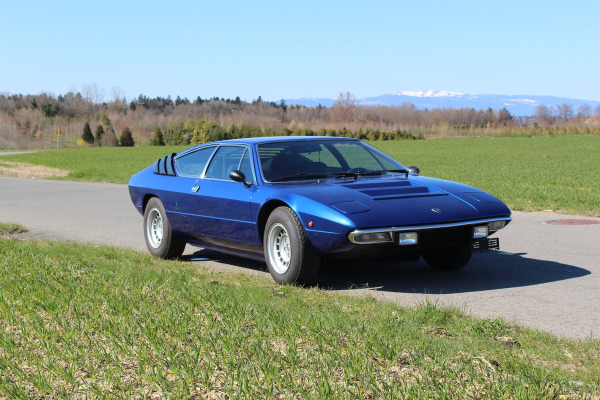 Lamborghini Urraco P250 For Sale By Auction Car And Classic