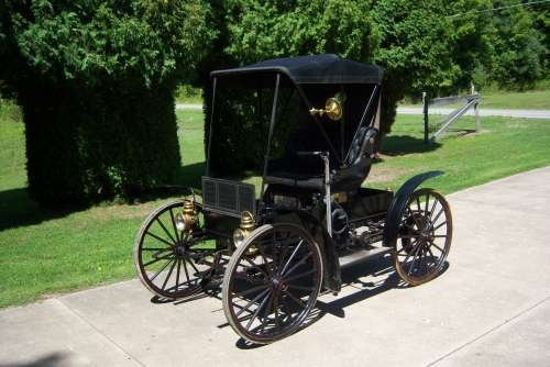 1909 Sears Model K Motor Buggy For Sale (picture 1 of 6)