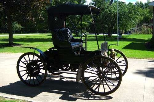 1909 Sears Model K Motor Buggy For Sale (picture 2 of 6)