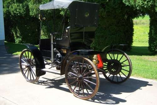 1909 Sears Model K Motor Buggy For Sale (picture 3 of 6)