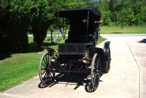 1909 Sears Model K Motor Buggy For Sale (picture 4 of 6)