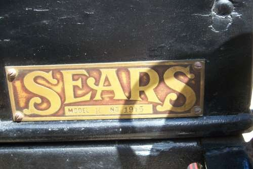 1909 Sears Model K Motor Buggy For Sale (picture 5 of 6)