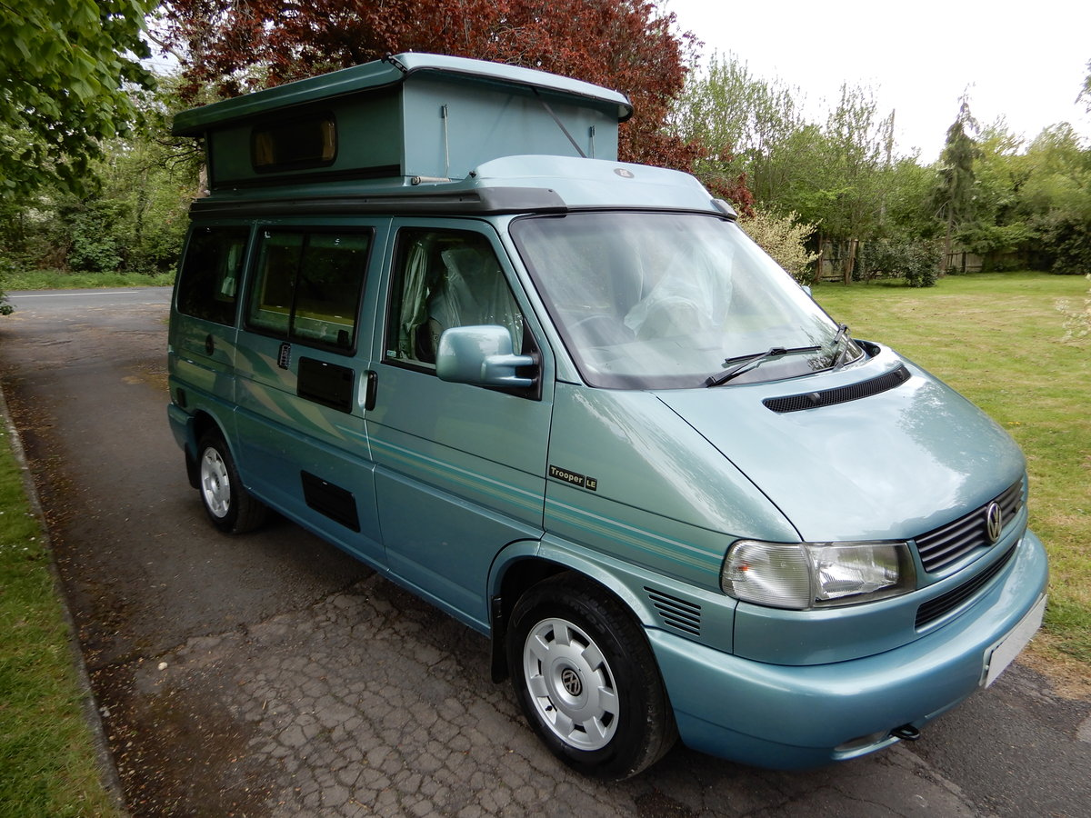 2003 Volkswagen Autosleeper Trooper LE For Sale (picture 1 of 6)