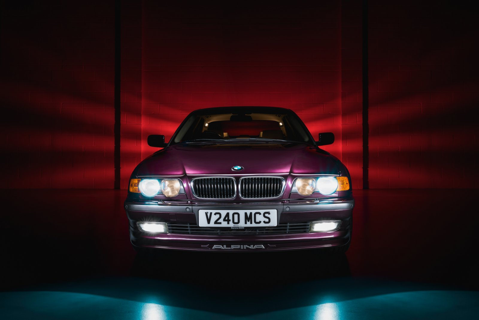 1999 BMW Alpina B12 6.0 e38 RHD 1 of 7 For Sale (picture 2 of 6)