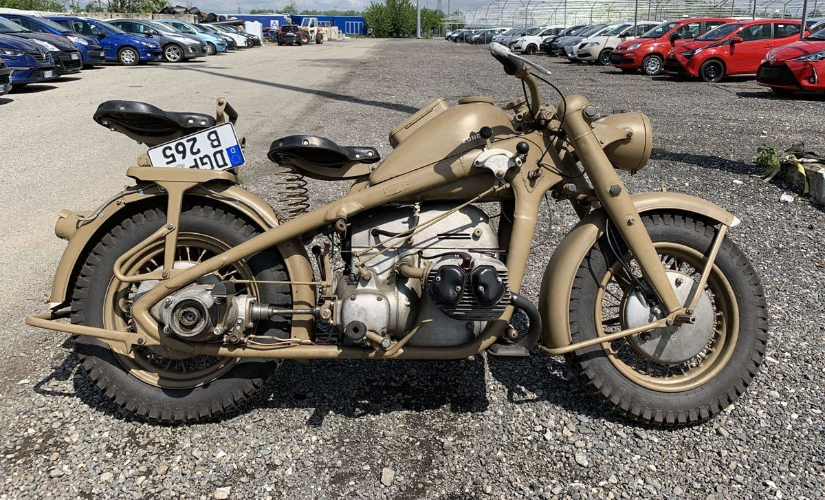 1944 Zündapp KS 750 For Sale by Auction (picture 1 of 2)