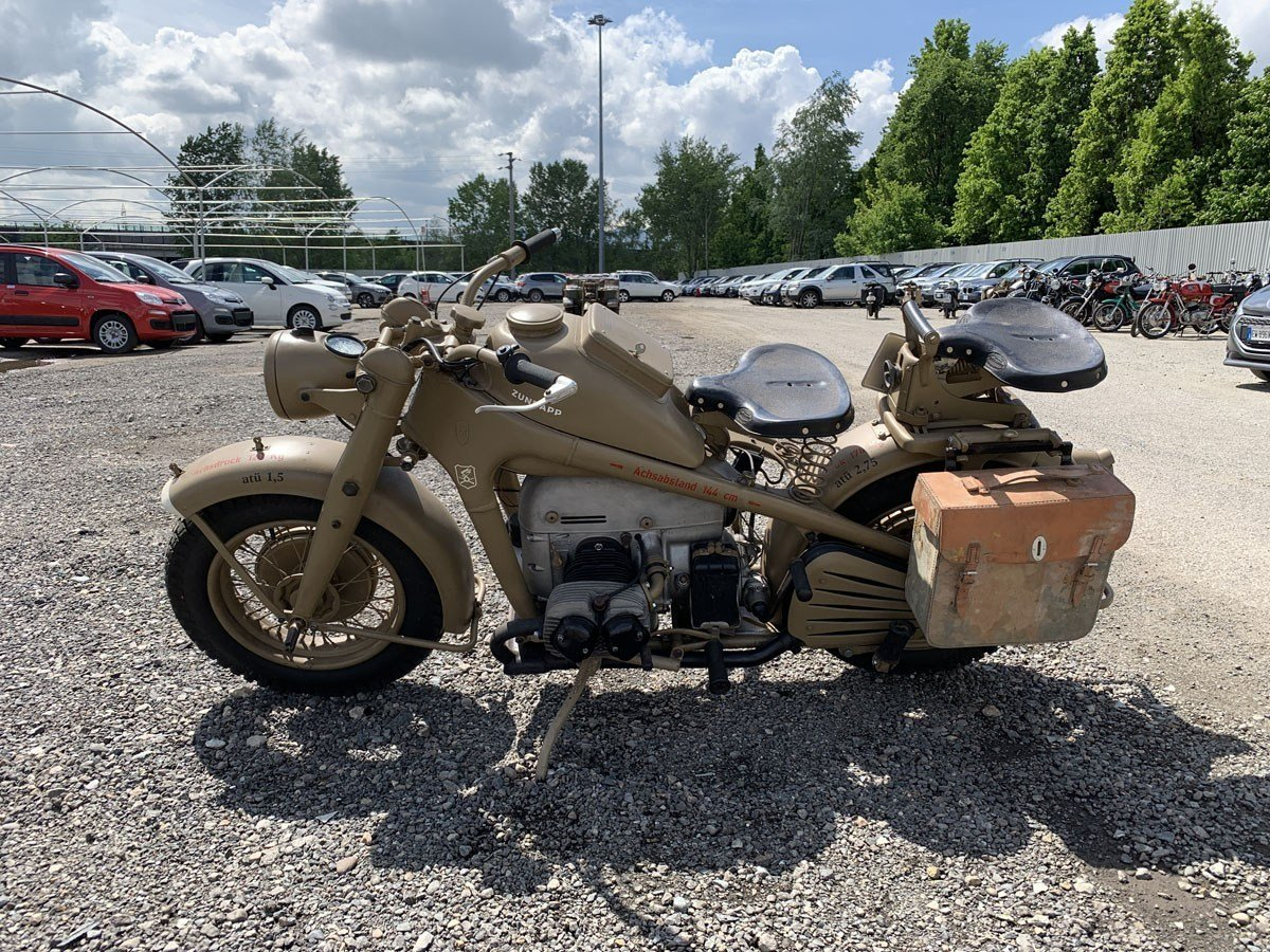 1944 Zündapp KS 750 For Sale by Auction (picture 2 of 2)