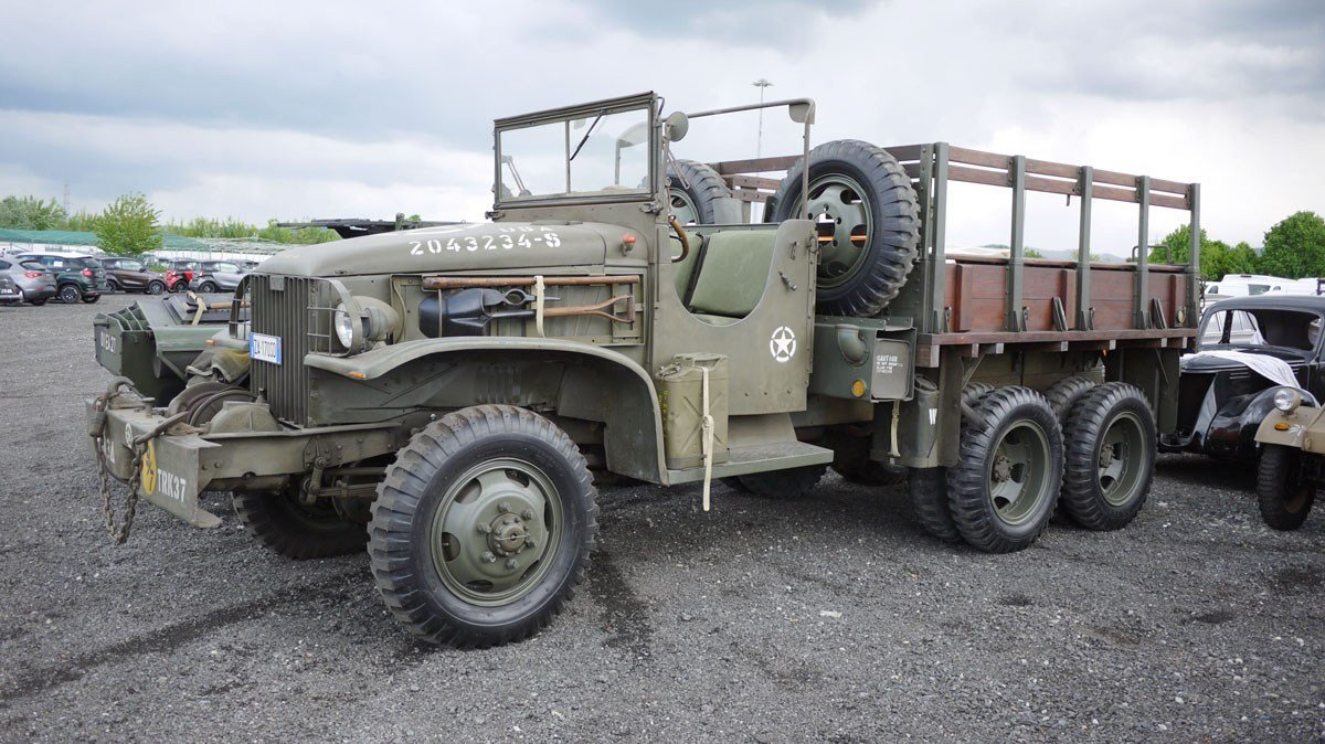 1942 GMC CCKW-353 For Sale by Auction (picture 1 of 6)