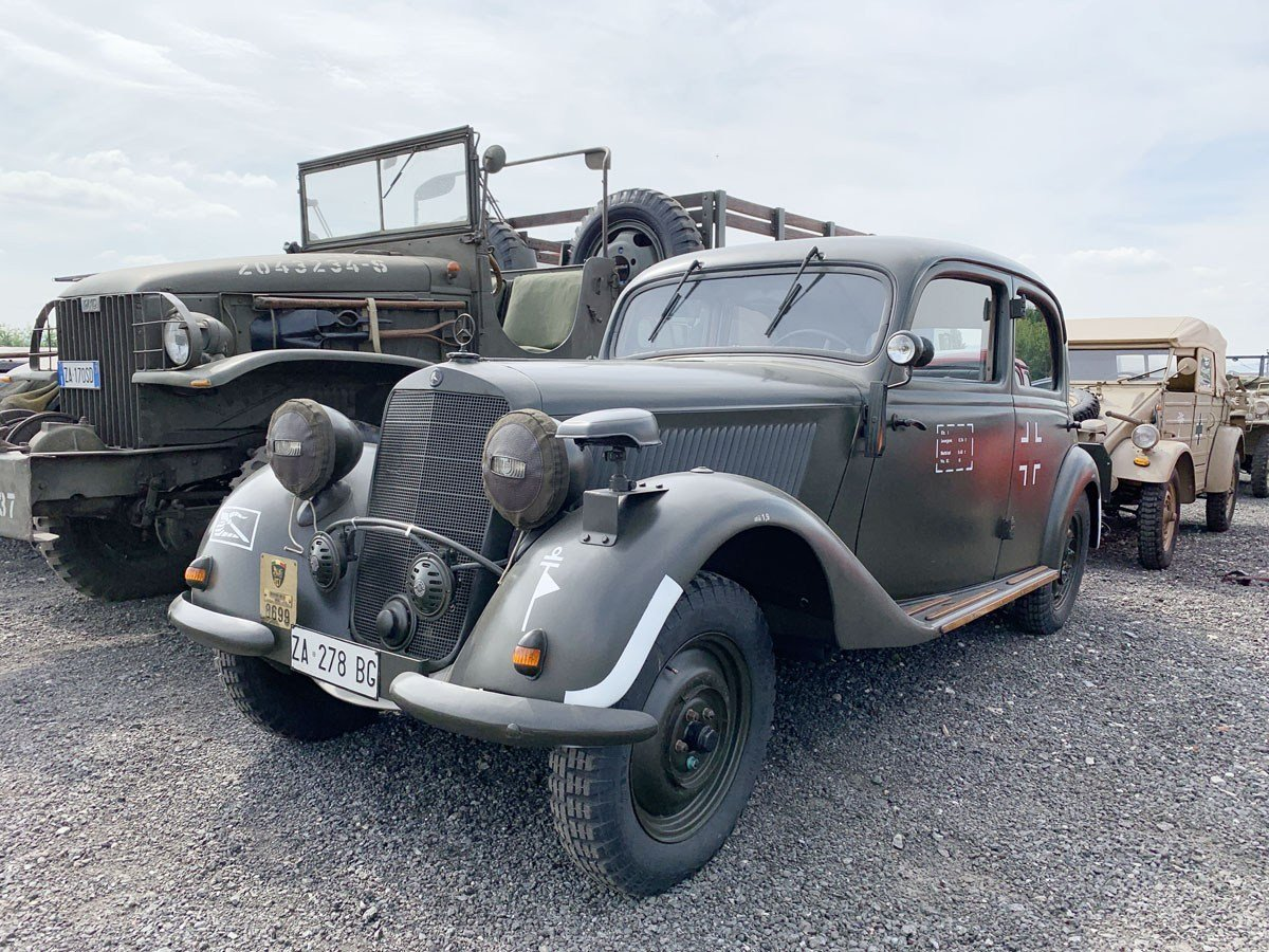 1939 Mercedes-Benz 170 V For Sale by Auction (picture 1 of 4)