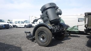 WWII Flak searchlight with trailer For Sale by Auction