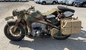 1943 Zündapp KS 750 with Sidecar For Sale by Auction