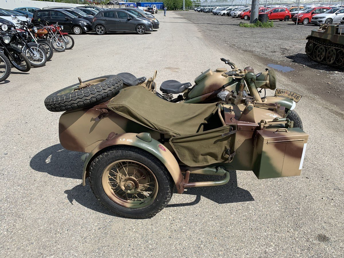 1943 Zündapp KS 750 with Sidecar For Sale by Auction (picture 2 of 4)