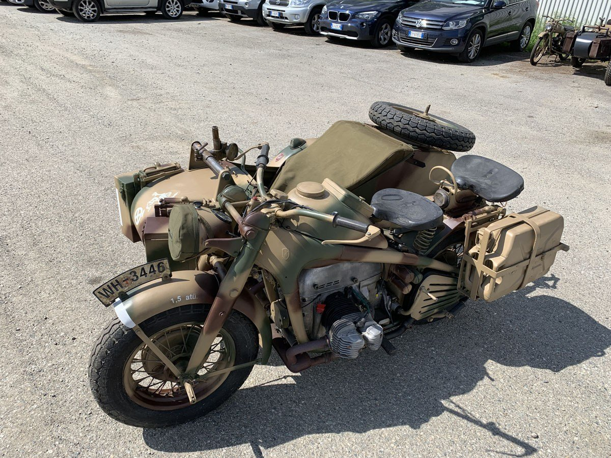 1943 Zündapp KS 750 with Sidecar For Sale by Auction (picture 3 of 4)