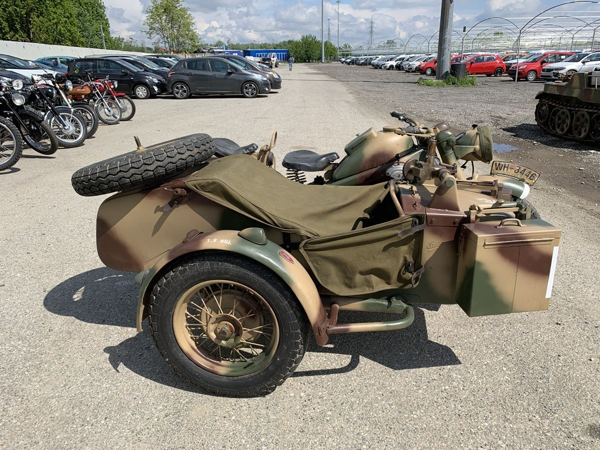 1943 Zündapp KS 750 with Sidecar For Sale by Auction (picture 4 of 4)