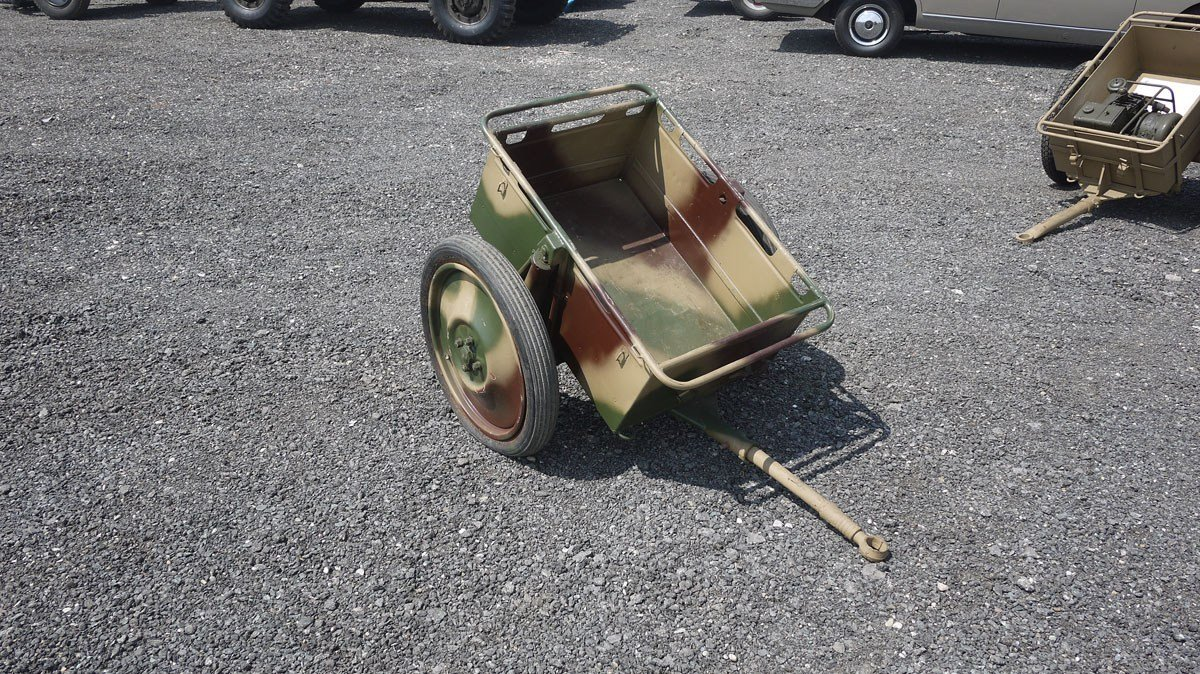 Army Motorbike Trailer For Sale by Auction (picture 1 of 1)