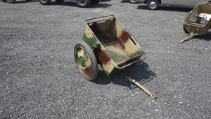 Army Motorbike Trailer For Sale by Auction