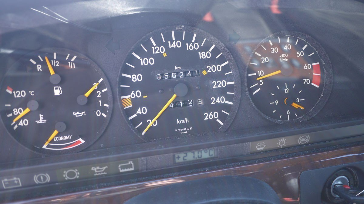 1989 Mercedes-Benz 560 SEL For Sale by Auction (picture 6 of 6)