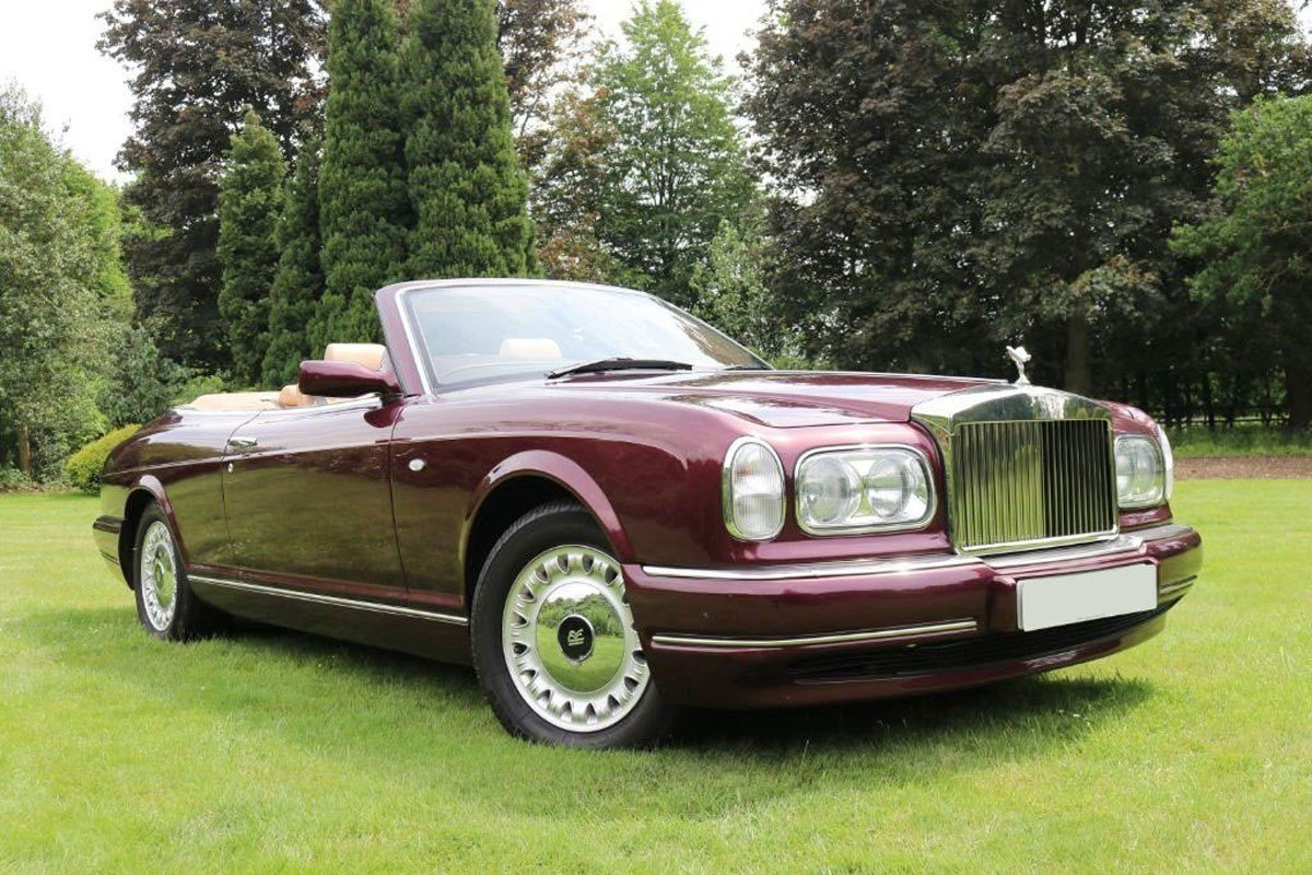 2000 Rolls-Royce Corniche For Sale by Auction (picture 1 of 6)
