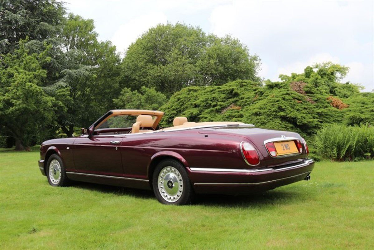 2000 Rolls-Royce Corniche For Sale by Auction (picture 3 of 6)