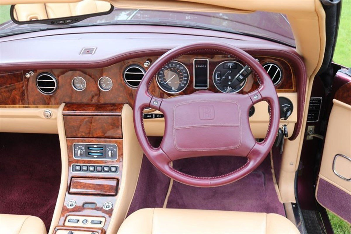 2000 Rolls-Royce Corniche For Sale by Auction (picture 4 of 6)