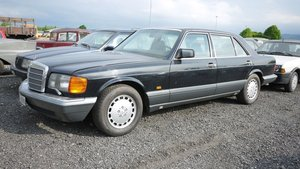 1990 Mercedes-Benz 560 SEL For Sale by Auction