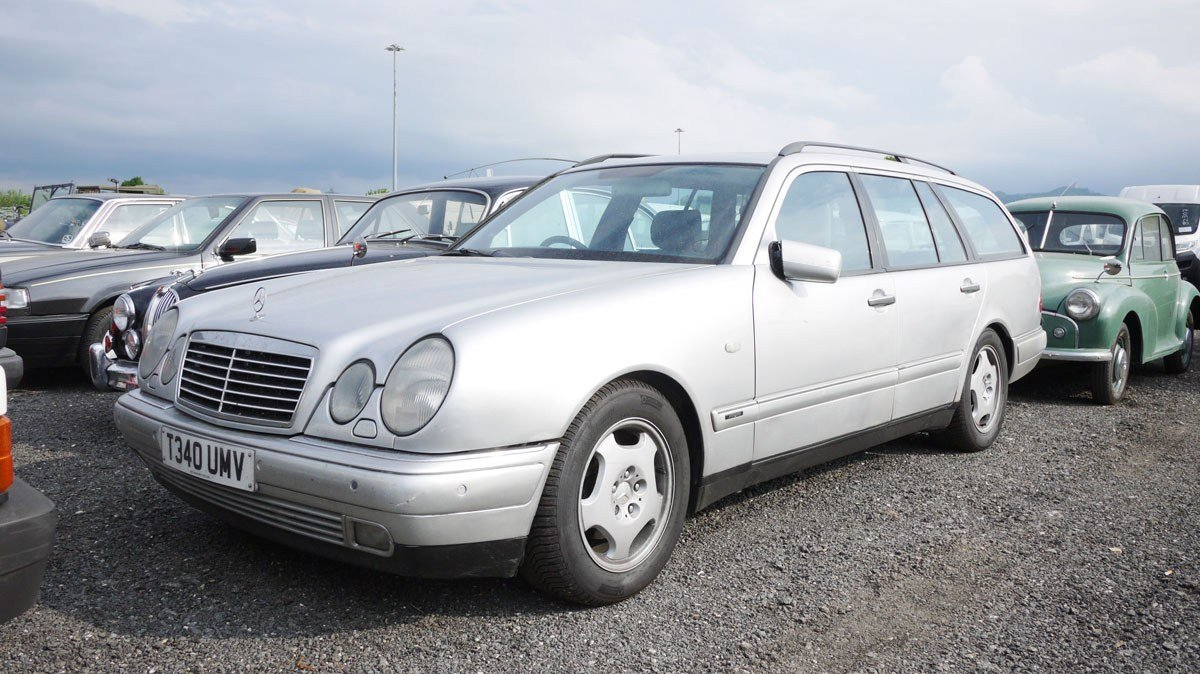1999 Mercedes-Benz 300 TDi Estate For Sale by Auction (picture 1 of 5)