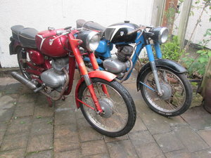 1958 Capriolo ohc Italian motorcycles