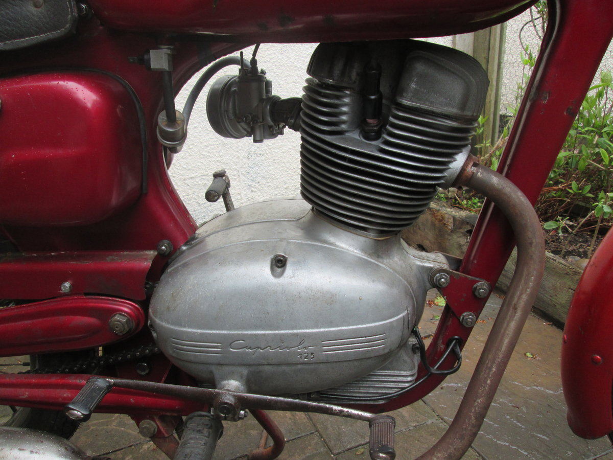 1958 Capriolo ohc Italian motorcycles For Sale (picture 6 of 6)