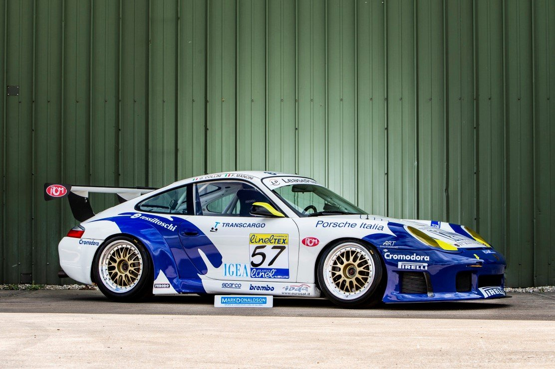 2000 Porsche 911 996 Gt3 R For Sale Car And Classic