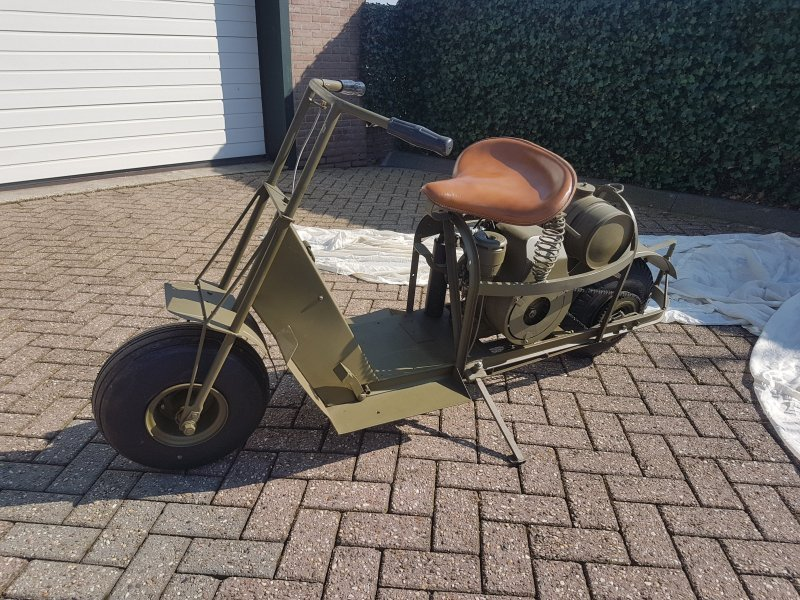 1944 Cusman, Cusman Model 53, Airborne motorcycle For Sale (picture 1 of 6)