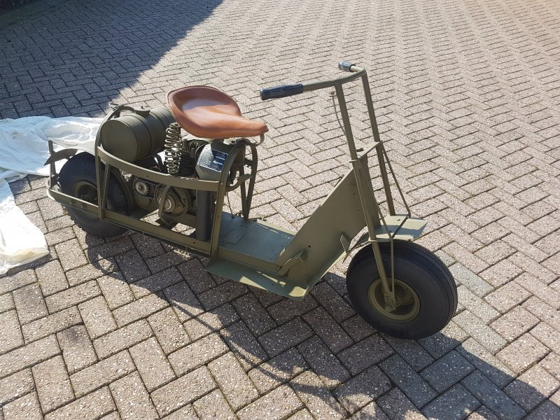 1944 Cusman, Cusman Model 53, Airborne motorcycle For Sale (picture 3 of 6)