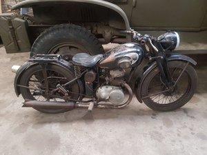 1938 Zundappp DB200, WW2 Zundapp, , Zundapp Motorrad SOLD