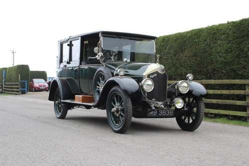 1923 Crossley 19.6 Landaulette at Morris Leslie Auction 25th May SOLD by Auction (picture 1 of 6)