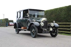 1923 Crossley 19.6 Landaulette at Morris Leslie Auction 25th May SOLD by Auction