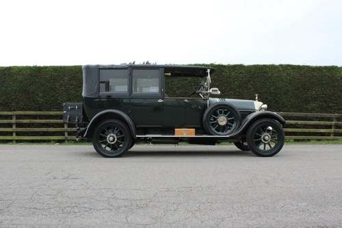 1923 Crossley 19.6 Landaulette at Morris Leslie Auction 25th May SOLD by Auction (picture 2 of 6)