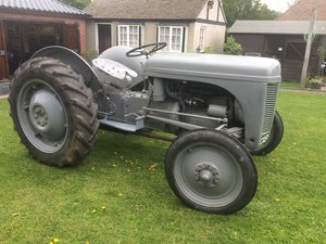 1947 Ferguson TE20 continental + churn carrier For Sale