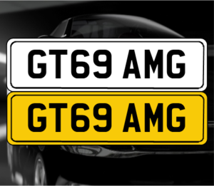 GT69 AMG 'Mercedes AMG GT registration' For Sale