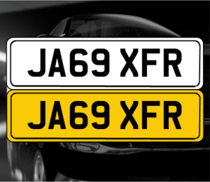 JA69 XFR 'Jaguar XFR registration' For Sale
