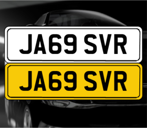 JA69 SVR 'Jaguar SVR registration' For Sale