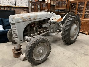 A 1954 grey Ferguson TED 20 tractor for sale
