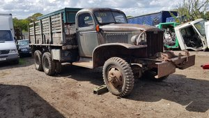 GMC CCKW 1944 hardcab winch truck  For Sale