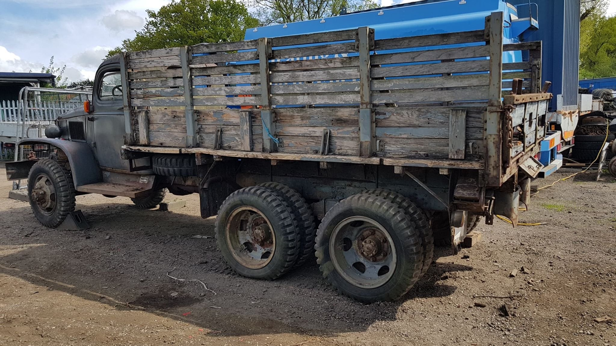 GMC CCKW 1944 hardcab winch truck  For Sale (picture 2 of 3)