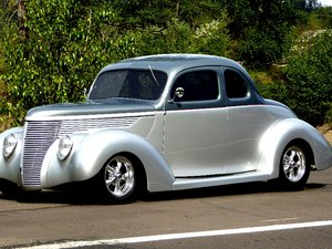 5450 1938 Ford Coupe = 350 auto All Steel AC 1st Winner $54.5k For Sale