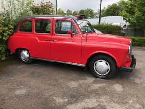 1995 Nice Red London Taxi SOLD