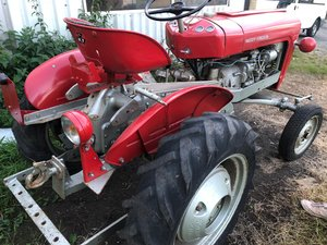 Picture of 1958 821 rare tractor -can deliver
