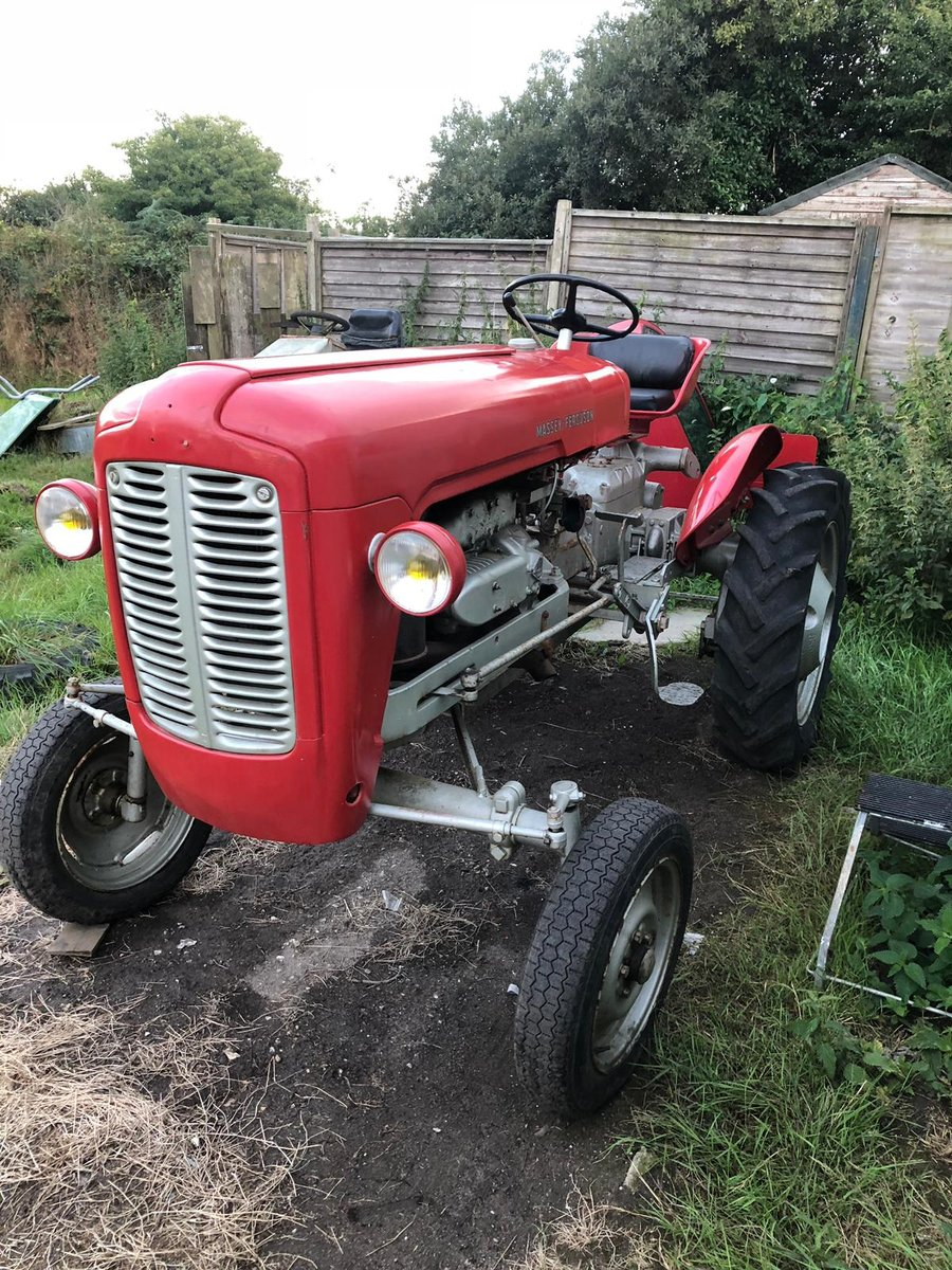 1958 821 rare tractor -can deliver  For Sale (picture 2 of 6)